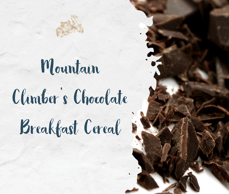 Mountain Climbers' Chocolate Breakfast Cereal
