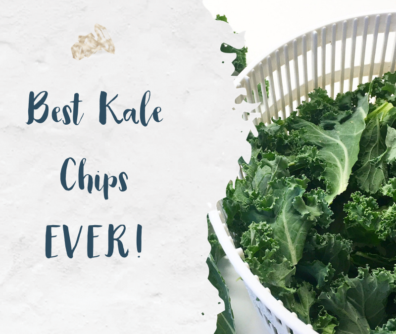 Best Kale Chips Ever!