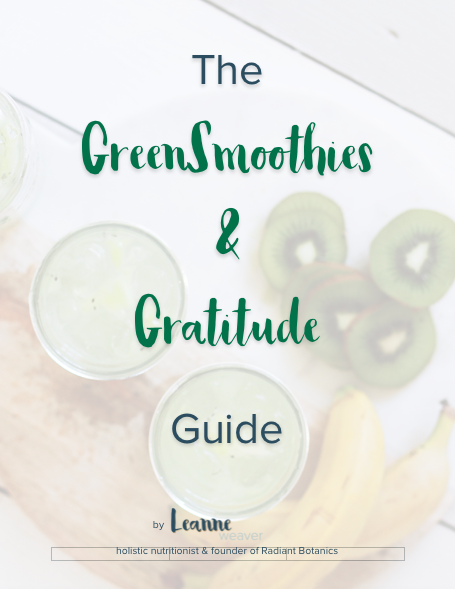 Episode 002 – Green Smoothie Recipe For Radiant Skin