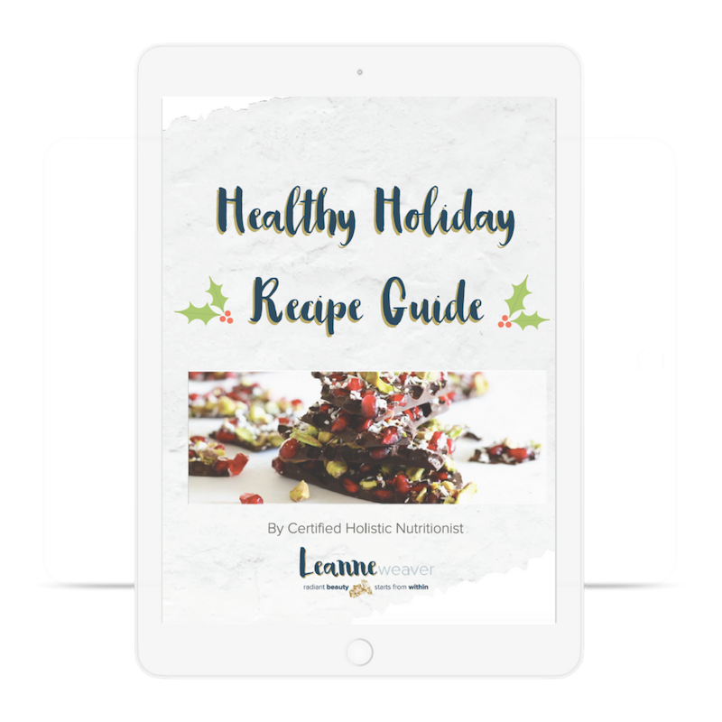 Episode 005 – Healthy Holiday Recipe Guide